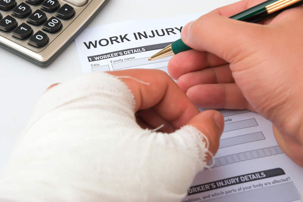 Burn injury at work